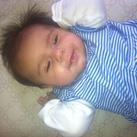 Mijn eerste kleinkind:milana!!!!!