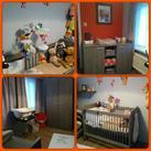 Kinderkamer helemaal af! Onze kinderkamer is eindelijk helemaal af! Ben er best blij mee! :)