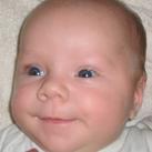 Hier is Dyora vd Toorn een paar dagen oud (sept 2009)