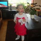 Dit ben ik!! Ons kleine meisje, nu bijna 2 1/2 jaar oud en een lekker dametje aan het worden!!
