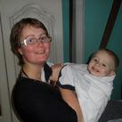 ik en mijn zoontje luke