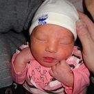 Evyonah-bij-geboorte Hier was ze pas een paar uurtjes oud.