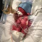 Geboren op 21/05/2013 28 weken 0,800g en 33cm
