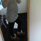 18 weken! Het begin van een buikje inmiddels 21 weken zwanger :D!